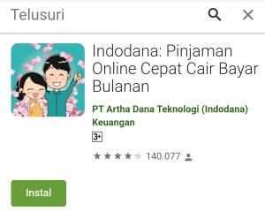 Aplikasi Pinjaman Indodana