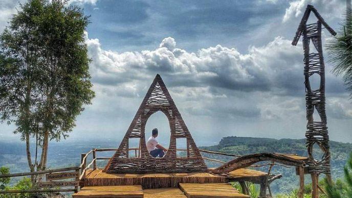 Wisata Bukit Lintang Sewu Jogja Yang Instagramable