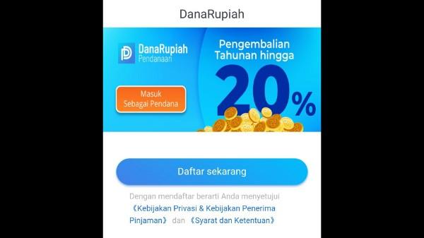 Pinjaman Online Danarupiah